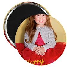 Bianca Christmas Card 2 Magnet