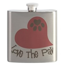 Love The Paw Flask