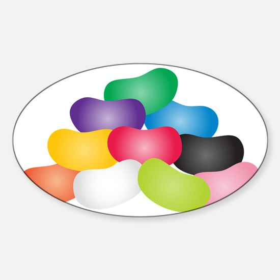 Jelly Beans Sticker (Oval)