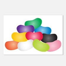 Jelly Beans Postcards (Package of 8)