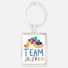 Team Jelly Bean Portrait Keychain