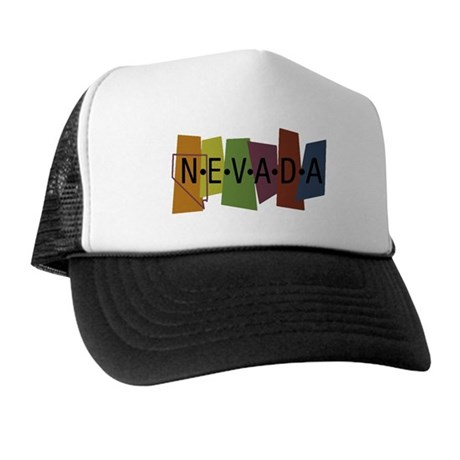 Colorful Nevada Trucker Hat
