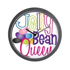 Jelly Bean Queen Wall Clock