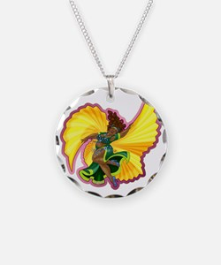Big-n-Beautiful Winged Belly Necklace