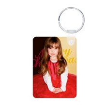 Xmas_card_2012_1cp Aluminum Photo Keychain