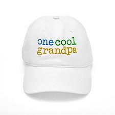 one cool grandpa Baseball Cap
