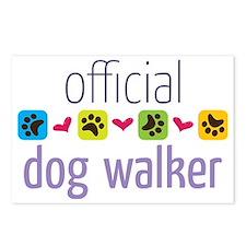 Official Dog Walker Postcards (Package of 8)