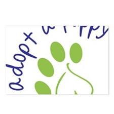 Adopt A Puppy Postcards (Package of 8)