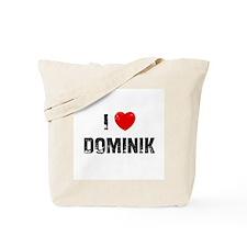 I * Dominik Tote Bag