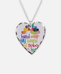Hand Over Jelly Beans Necklace