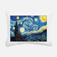 Starry Night Rectangular Canvas Pillow