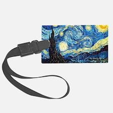 Starry Night Luggage Tag