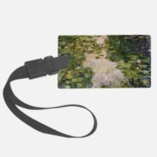 Water Lilies, Monet Luggage Tag