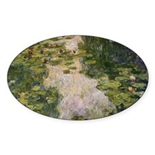 Water Lilies, Monet Decal