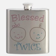 Blessed Twice Flask