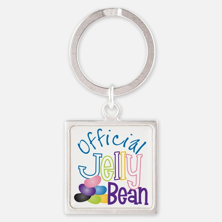 Official Jelly Bean Square Keychain