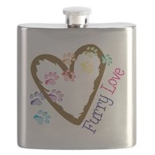 Furry Love Flask