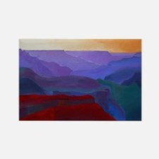 GRAND CANYON AM Rectangle Magnet