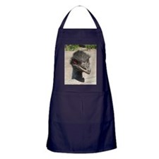 Angry Ostrich Apron (dark)