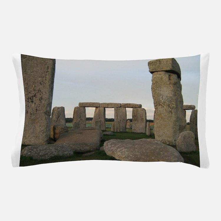 Stonehenge From Inside Pillow Case