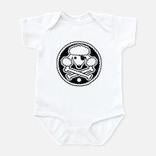 PoodlePirate-2cl Infant Bodysuit