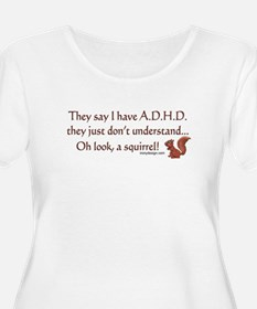 ADHD Squirrel T-Shirt