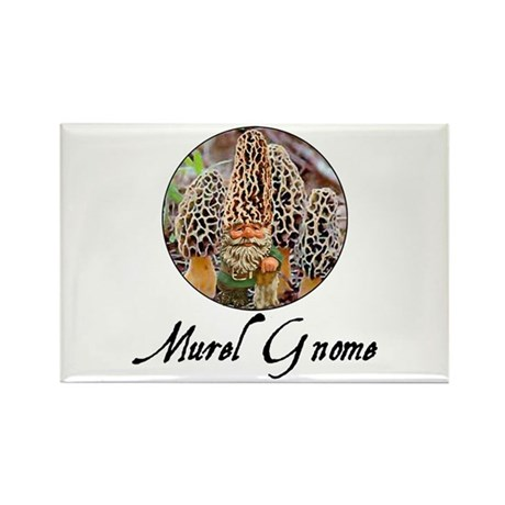 the morel gnome Rectangle Magnet (10 pack)