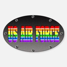 Air Force Pride Oval Decal