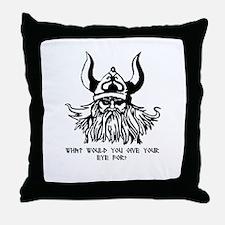 Odin's Eye Throw Pillow