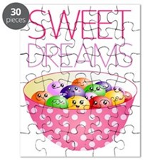 Sweet Dreams Cute Jelly Beans Puzzle