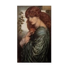 Dante Gabriel Rossetti Proser Rectangle Car Magnet