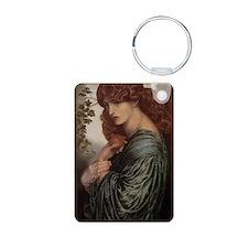 Dante Gabriel Rossetti Pro Aluminum Photo Keychain