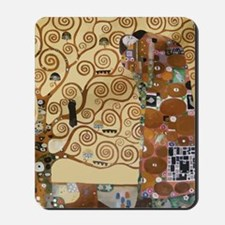 Gustav Klimt Tree Of Life Mousepad