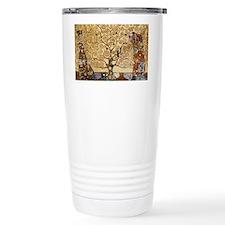 Gustav Klimt Tree Of Li Travel Mug