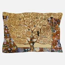 Gustav Klimt Tree Of Life Pillow Case