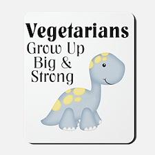 Vegetarian Dinosaur Mousepad