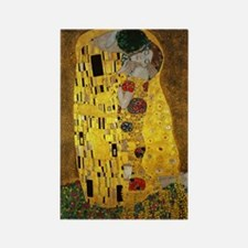 Gustav Klimt The Kiss Rectangle Magnet