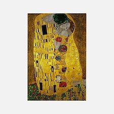 Gustav Klimt The Kiss Rectangle Magnet