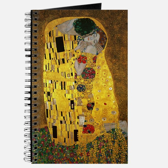 Gustav Klimt The Kiss Journal