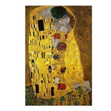 Gustav Klimt The Kiss Postcards (Package of 8)