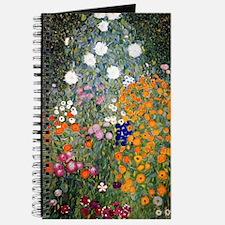 Gustav Klimt Flower Garden Journal