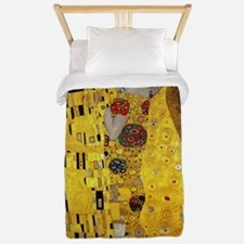Gustav Klimt The Kiss Twin Duvet