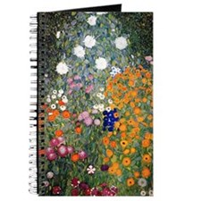 Gustav Klimt Flower Garden Journal