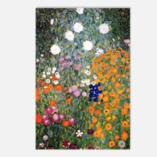 Gustav Klimt Flower Garde Postcards (Package of 8)