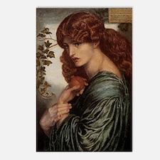 Dante Gabriel Rossetti Pr Postcards (Package of 8)
