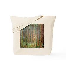 Gustav Klimt Pine Forest Tote Bag