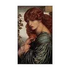 Dante Gabriel Rossetti Proserp Decal