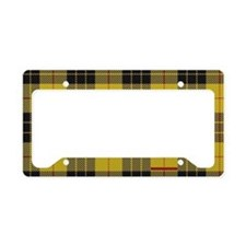 McCleod McCloud Tartan Plaid License Plate Holder