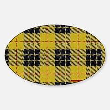 McCleod McCloud Tartan Plaid Sticker (Oval)