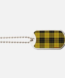 McCleod McCloud Tartan Plaid Dog Tags